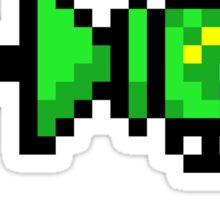 """"""" Fire The Laser"""" Pixels Sticker"""