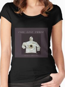 coil - live three bologna 2002 Women's Fitted Scoop T-Shirt