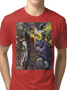Spatial Insanity Remixed Tri-blend T-Shirt