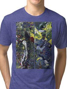 Spatial Insanity Remixed Tri-blend T-Shirt