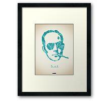 Icons - Hunter S. Thompson Framed Print