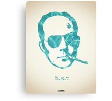 Icons - Hunter S. Thompson Canvas Print