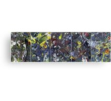 Spatial Insanity Remixed Canvas Print