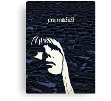 Icons - Joni Mitchell Canvas Print