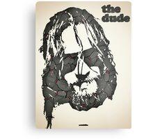 Icons - Jeff Lebowski Metal Print