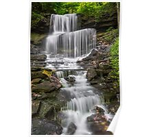 Waterfall at West Milton Poster