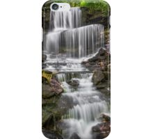 Waterfall at West Milton iPhone Case/Skin