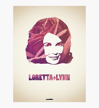 Icons - Loretta Lynn Photographic Print