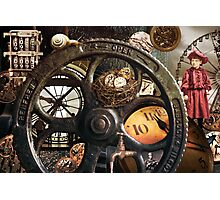Time Machine Photographic Print