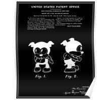 Bimbo Patent - Black Poster