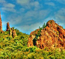 The Breadknife .. Warrumbungle National Park by Michael Matthews