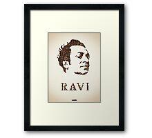 Icons - Ravi Shankar Framed Print