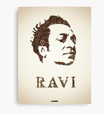 Icons - Ravi Shankar Canvas Print