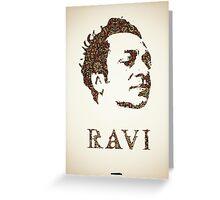 Icons - Ravi Shankar Greeting Card