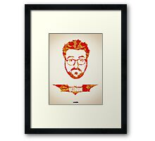 Icons - Kevin Smith Framed Print
