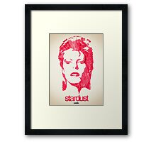 Icons - David Bowie Framed Print