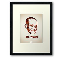 Icons - John Waters Framed Print