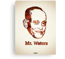 Icons - John Waters Canvas Print