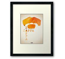 Icons - Frank Zappa Framed Print