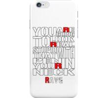 Rayg #1 iPhone Case/Skin