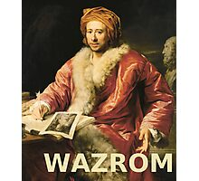 WAZROM! Photographic Print