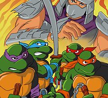 TMNT HEROES IN THE HALF SHELL by magnificent1