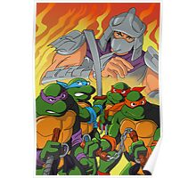 TMNT HEROES IN THE HALF SHELL Poster