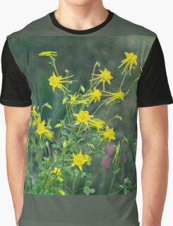 A Field of Golden Glory Graphic T-Shirt