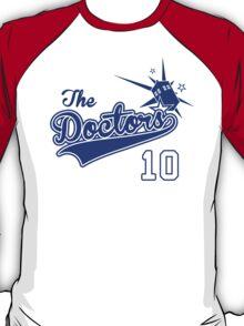 Tenth Doctor Baseball Tee T-Shirt