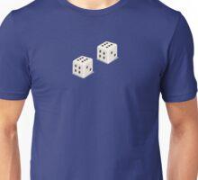 Double Six - Lucky Die - Dice Game Winner T-Shirt Sticker Unisex T-Shirt