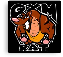 Gym Rat Canvas Print