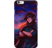not unlike the waves  iPhone Case/Skin