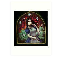 alice: evil eyes Art Print