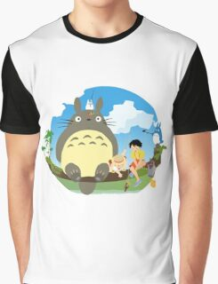 1totoro confused Graphic T-Shirt