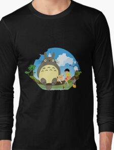 1totoro confused Long Sleeve T-Shirt