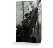 Howitzer Greeting Card