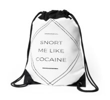 Smell Drawstring Bag