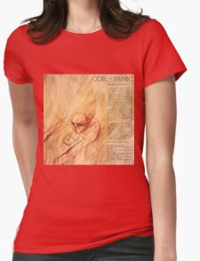 coil - panic Womens Fitted T-Shirt
