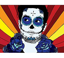 Brendon Urie Sugar Skull Photographic Print