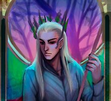 thranduil by anephilimrising