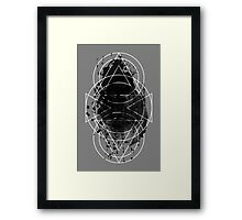 Geo Sneeze Framed Print