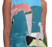 The Bathers Contrast Tank