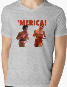 ROCKY - 'MERICA Mens V-Neck T-Shirt