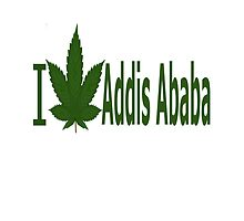 I Love Addis Ababa by Ganjastan