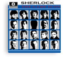 Sherlock- A Hard Day's Night  Canvas Print