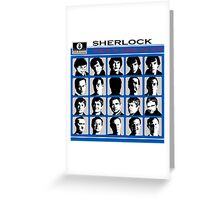 Sherlock- A Hard Day's Night  Greeting Card