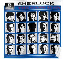 Sherlock- A Hard Day's Night  Poster
