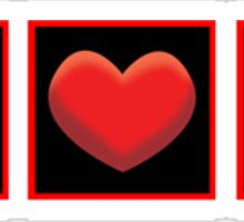 I Heart Money Sticker