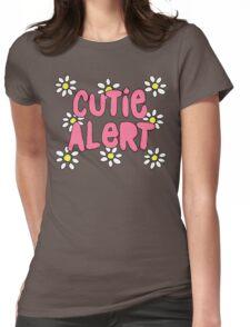 Cutie Alert! Womens Fitted T-Shirt