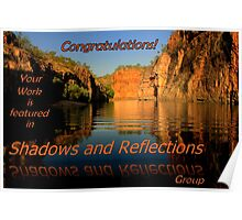Shadows and Reflections Banner challenge Poster